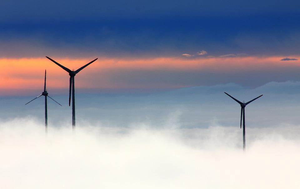 енергетика, вятърни мелници