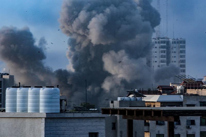 Палестина ивицата Газа ракети Израел