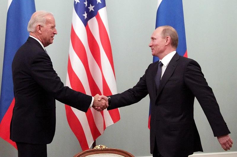 Байдън Путин
