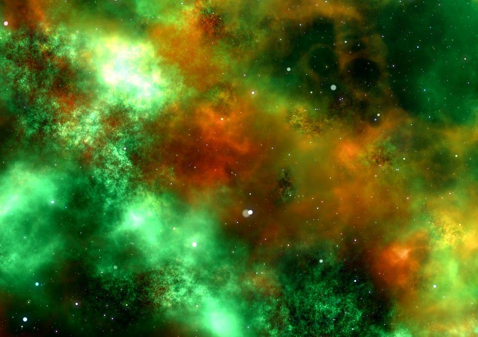 Космос галактика експлозия