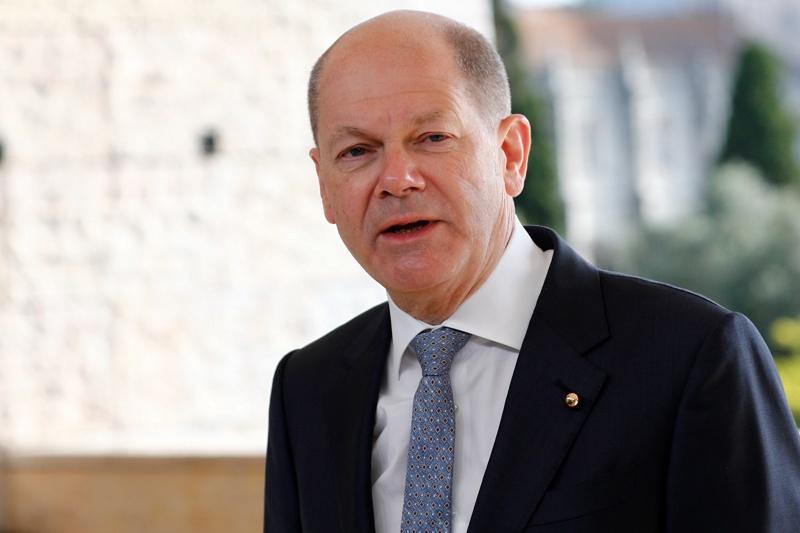 Олаф Шолц Германия финансов министър