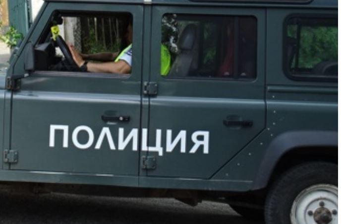 полиция полицейски джип