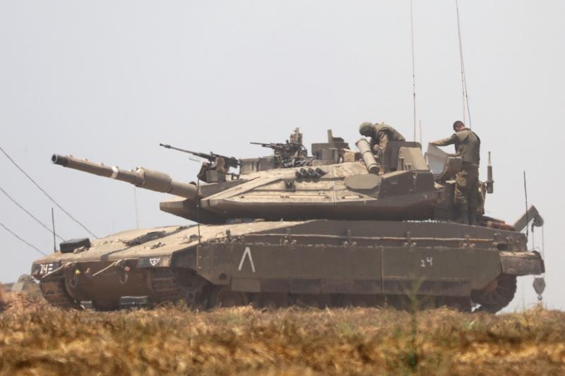 танк Израел армия на Израел