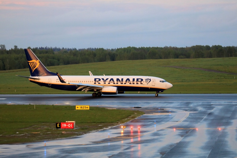 Райънер Минск отвлечен самолет