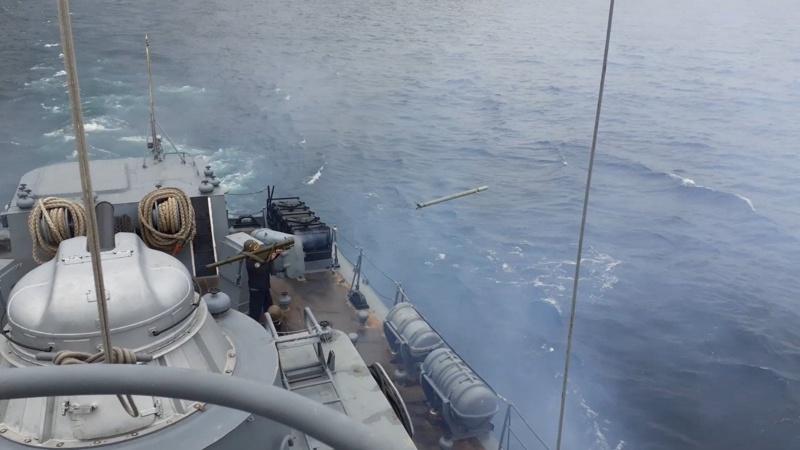 Веннен кораб в Черно море