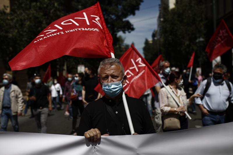 Стачка на работещите в транспортния сектор в Атина