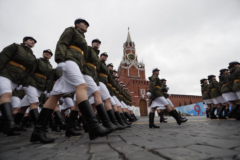парад Русия