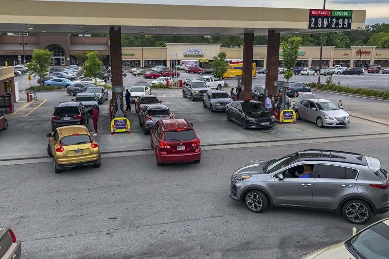 Опашки за бензин в САЩ