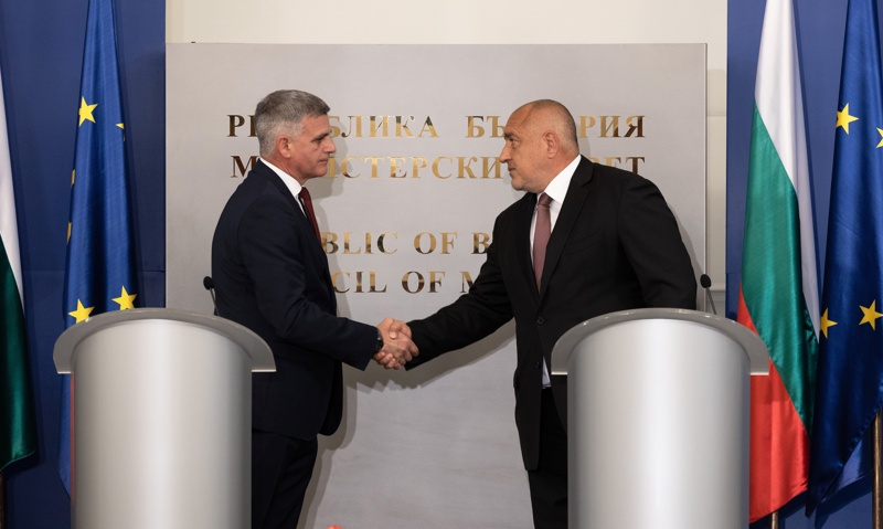 Бойко Борисов и Стефан Янев