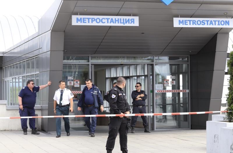 Стрелба на летище София