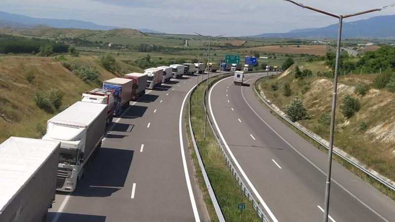 трафик на границата с Гърция