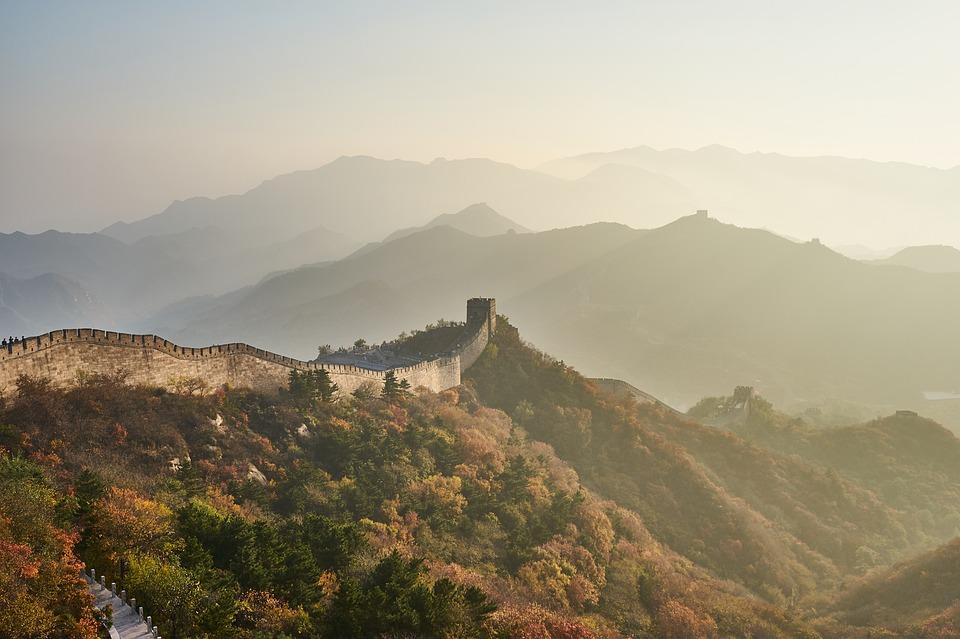 Великата китайска стена в Китай