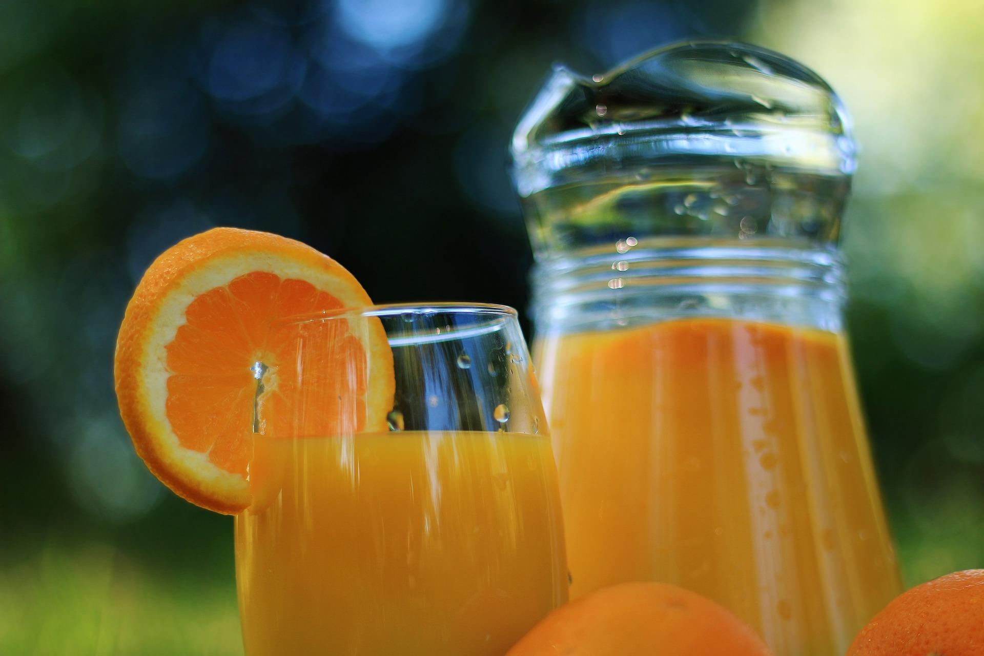 сок, фреш, портокал