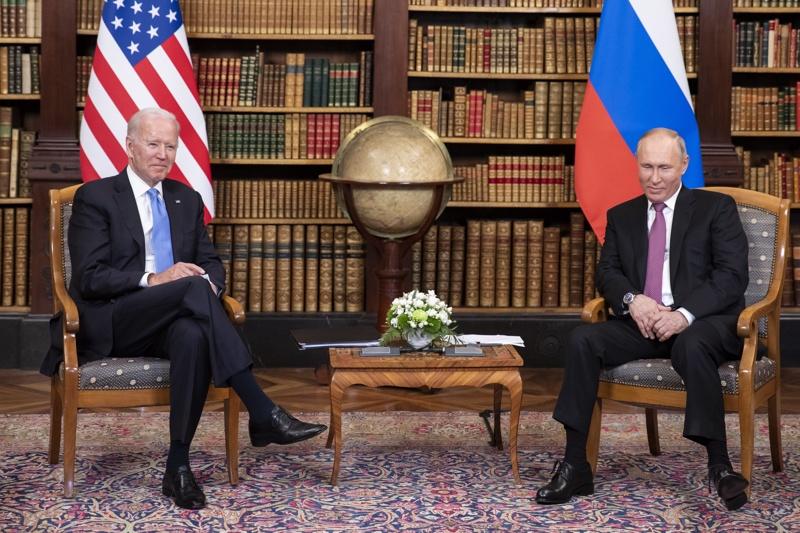 Байдън Путин Женева