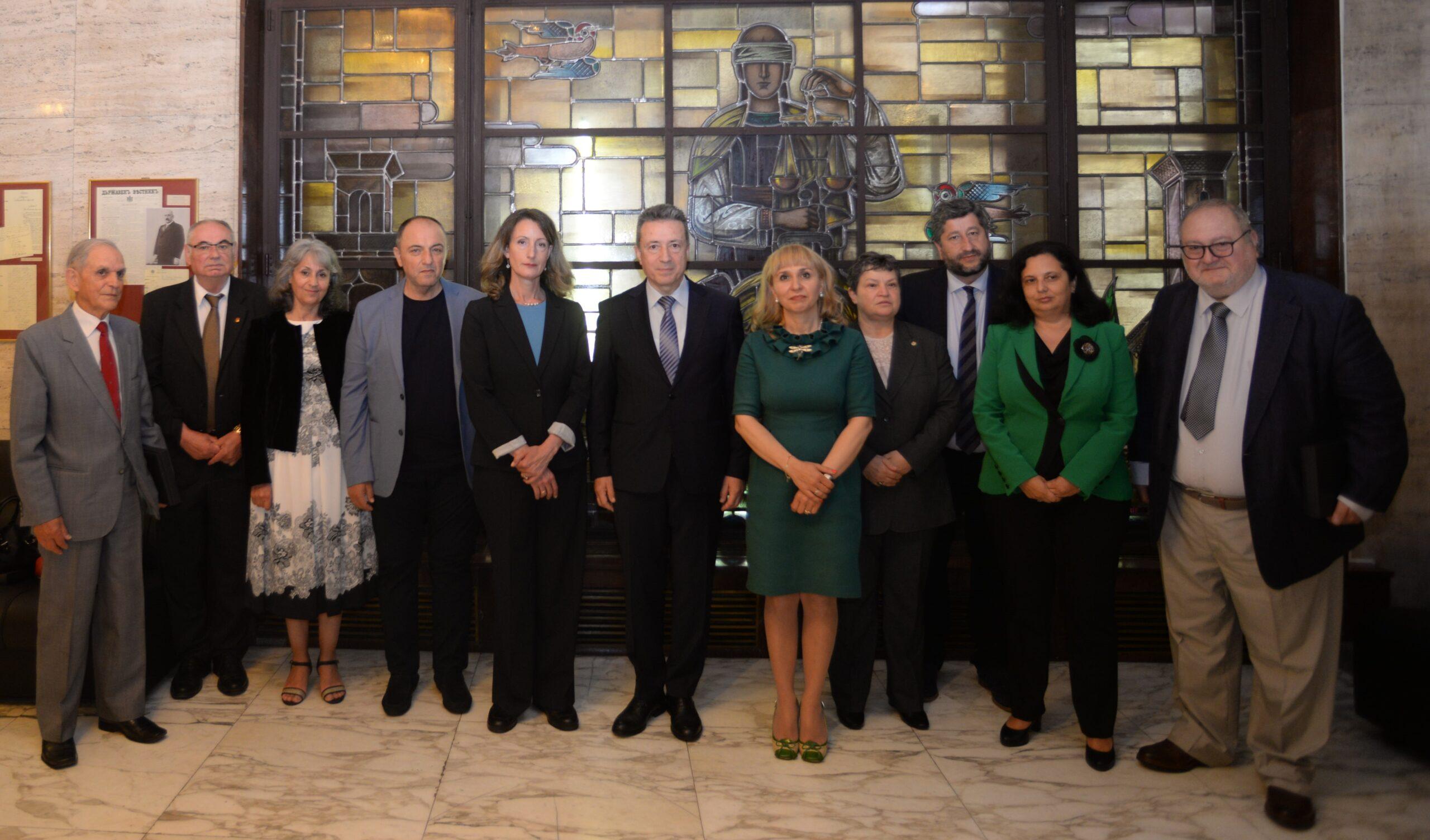 Министри на правосъзието при Янаки Стоилов