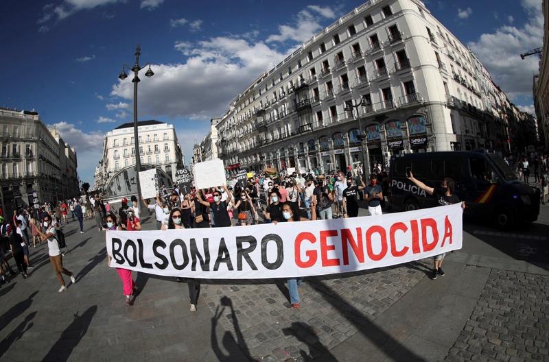 протест Бразилия Болсонаро