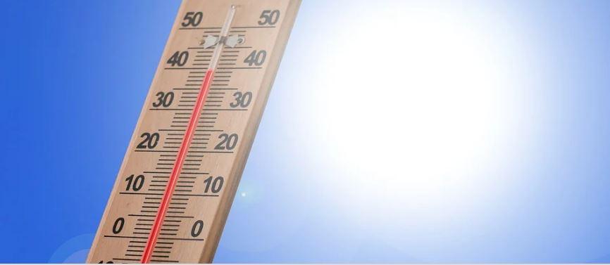 термометър жега температура