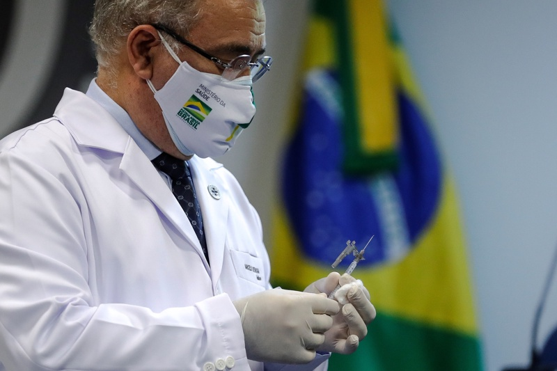 Бразилия ваксина