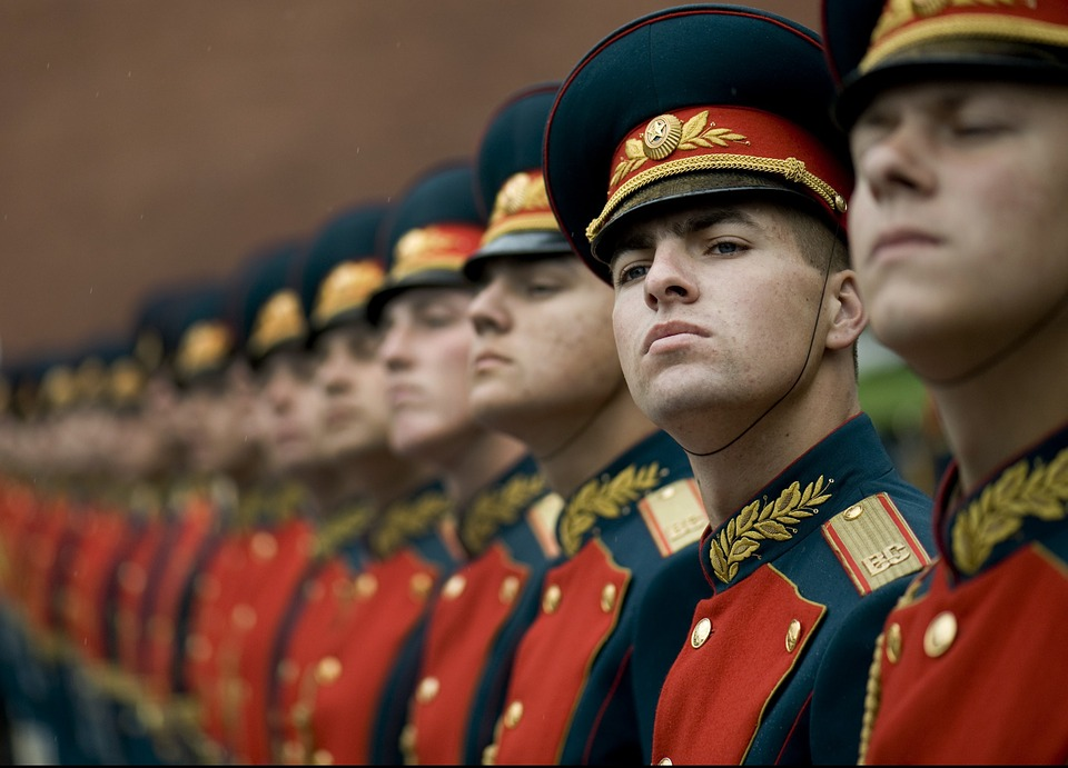 армия Русия войници гвардия