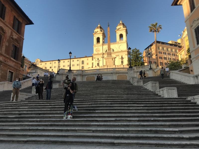 Рим, Испанските стъпала