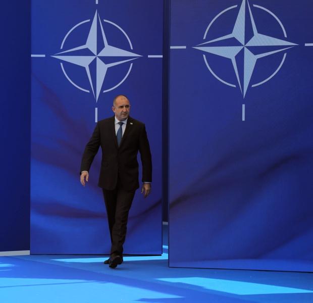 Румен Радев, президент НАТО