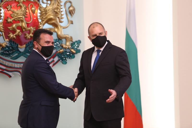 Румен Радев и Зоран Заев