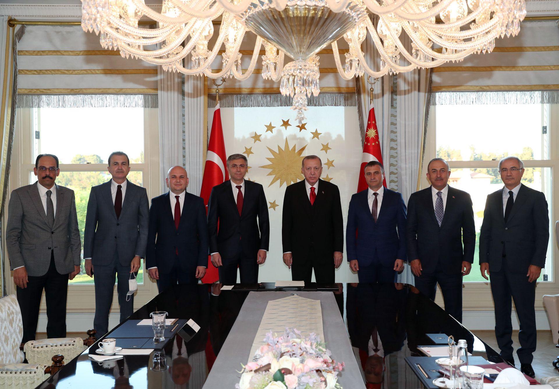Ердоган и Карадайъ