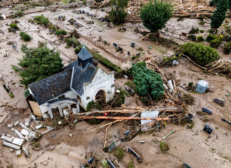 Германия наводнения