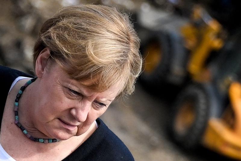 Меркел наводнения