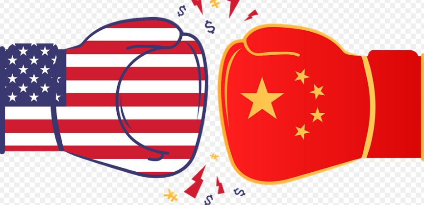 САЩ Китай
