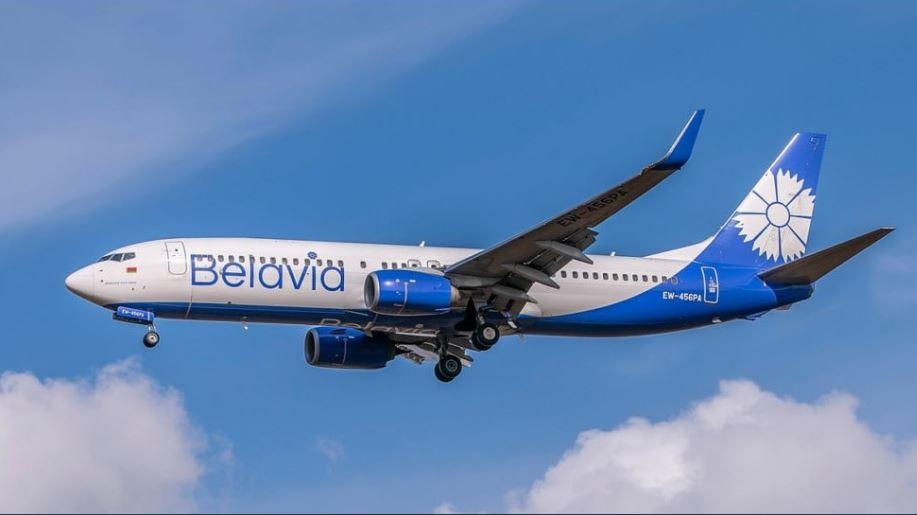 Белавия Беларус авиокомпания самолет