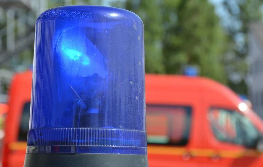 полиция синя лампа