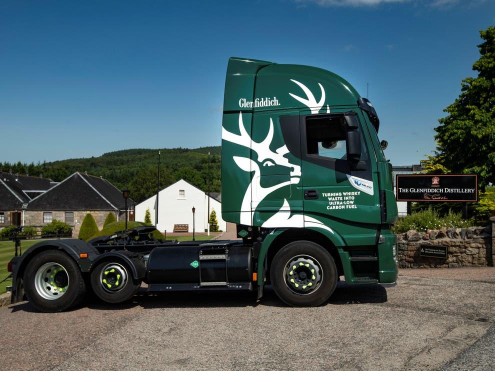 влекач камион биогаз