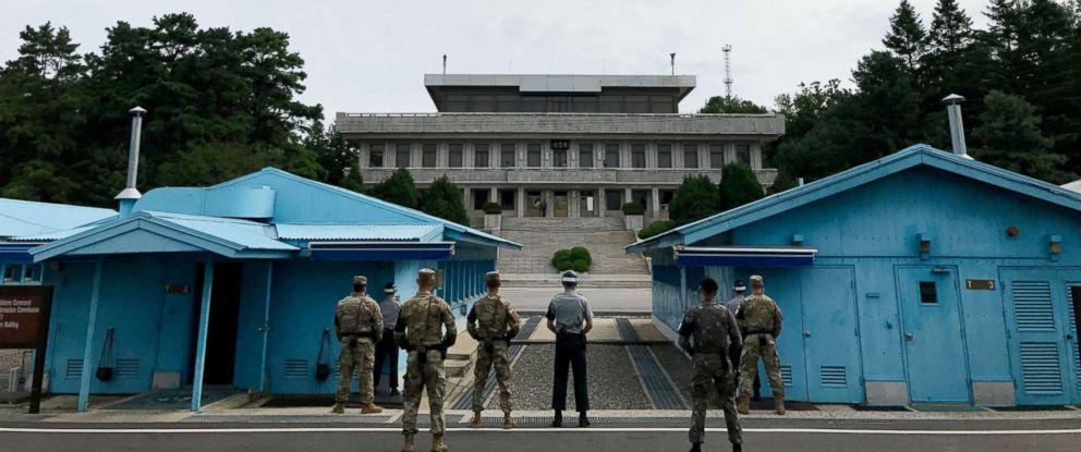 демитализирана зона Северна Южна Корея