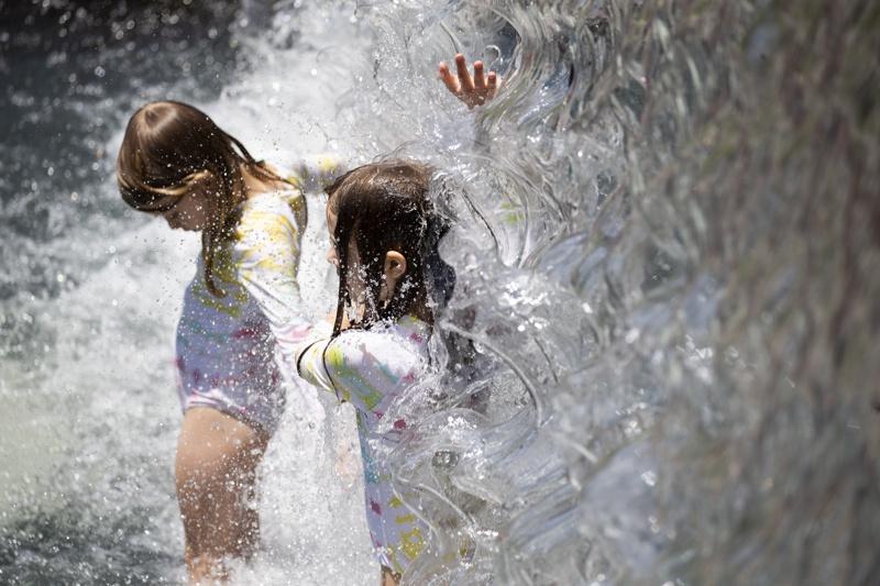 жега деца лято САЩ