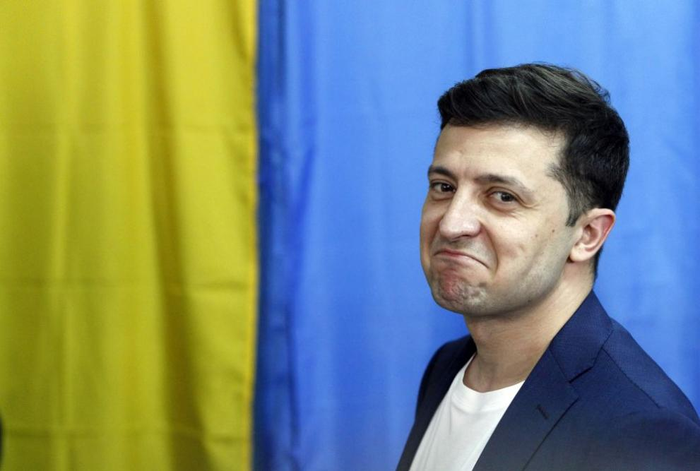 Владимир Зеленски Украйна