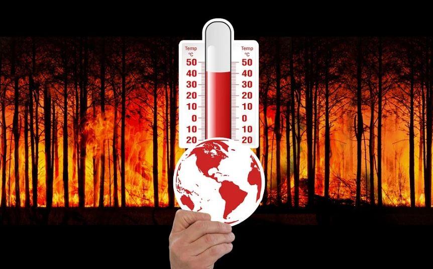 жега термометър пожари