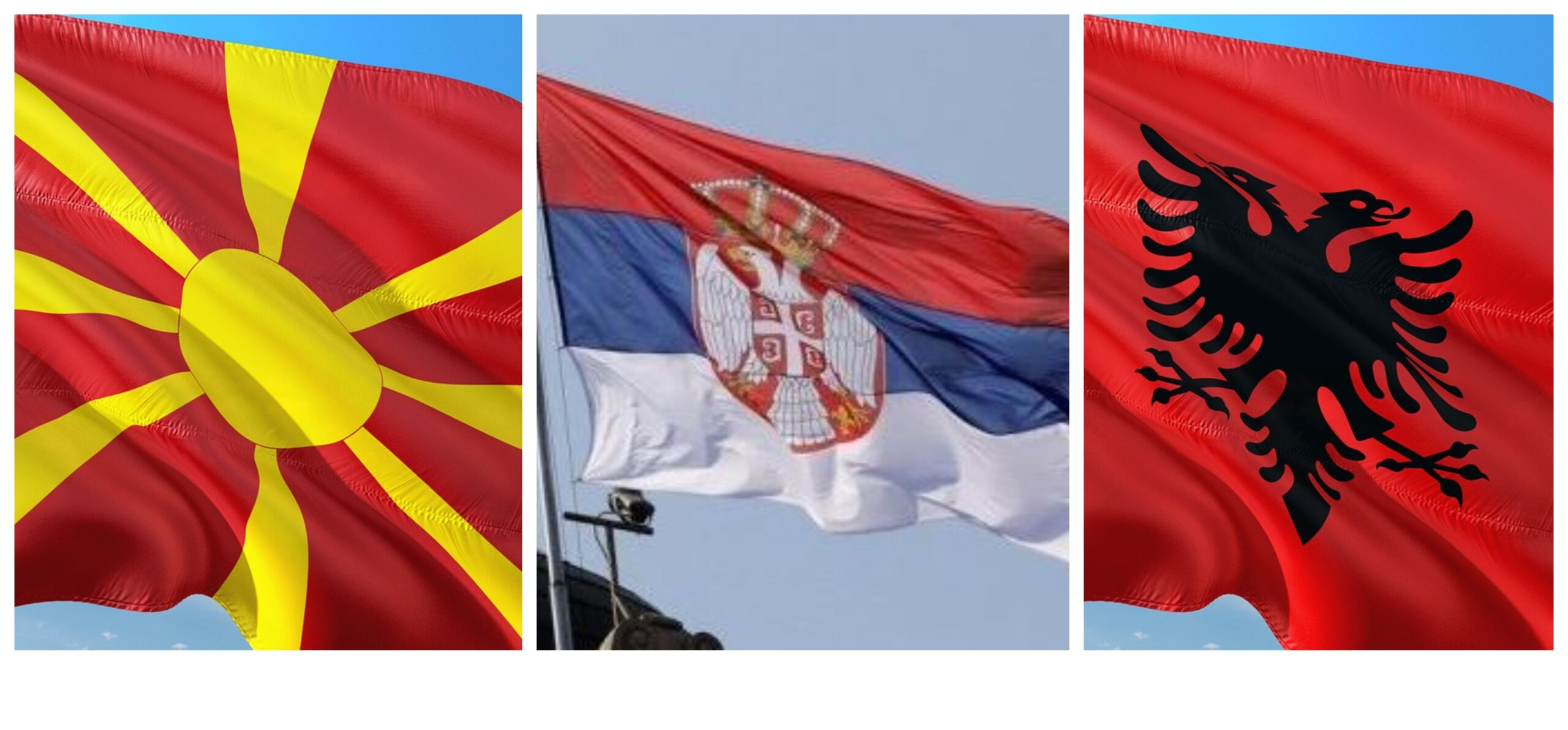 Северна Македония Сърбия Албания