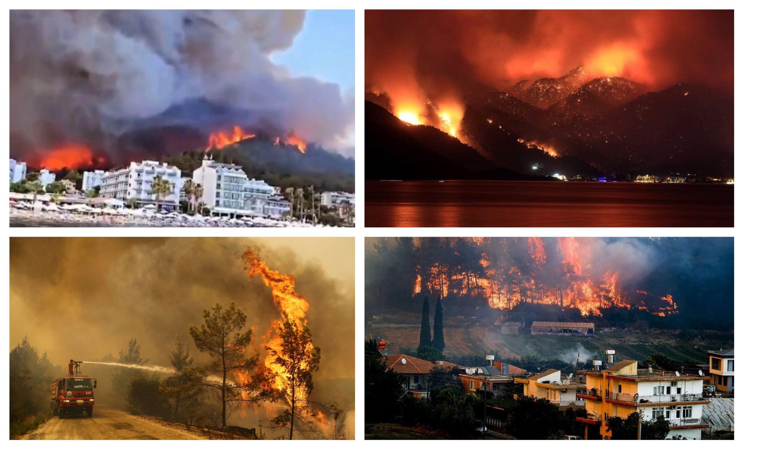 Турция пожари курорти