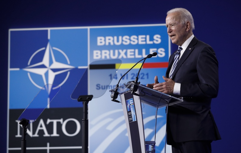 Джо Байдън НАТО