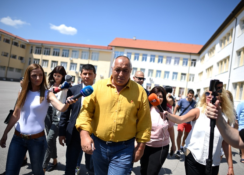 Бойко Борисов на избори