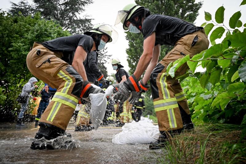 Пожарникари в Германия