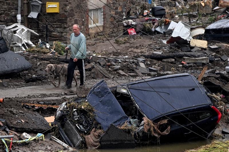 наводнения Германия