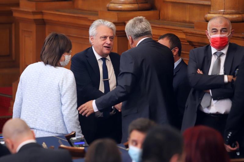 Бойко Рашков, Корнелия Нинова и Румен Гечев