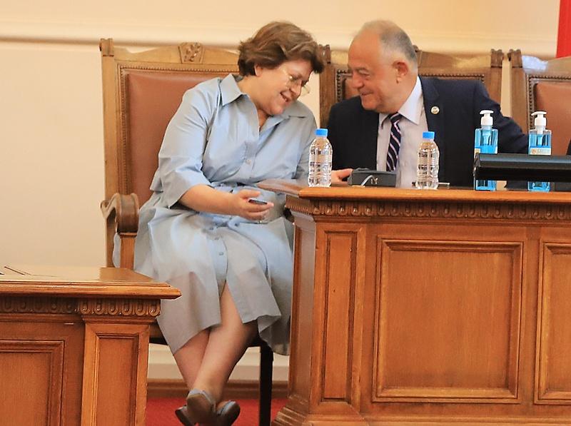 Татяна Дончева и Атанас Атанансов