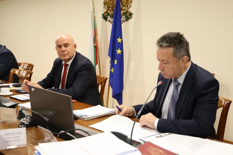 Иван Гешев и Янаки Стоилов