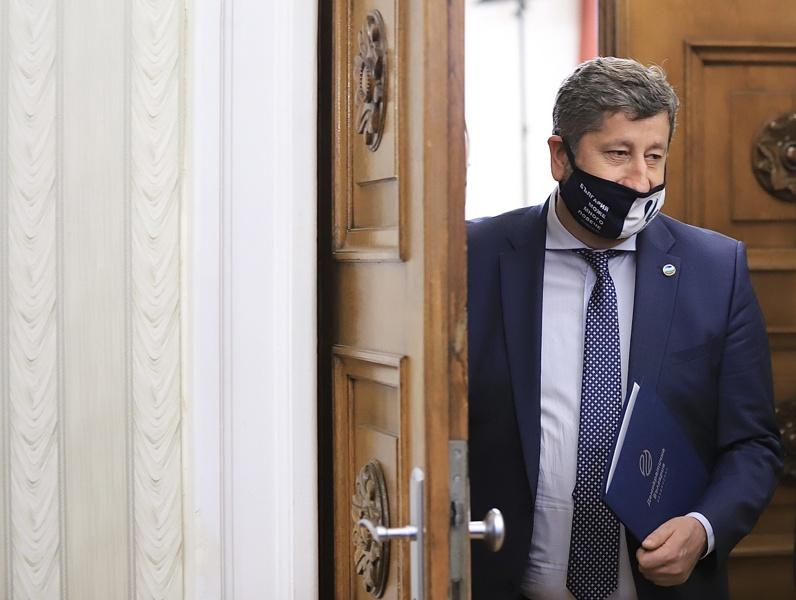 Христо Иванов при президента