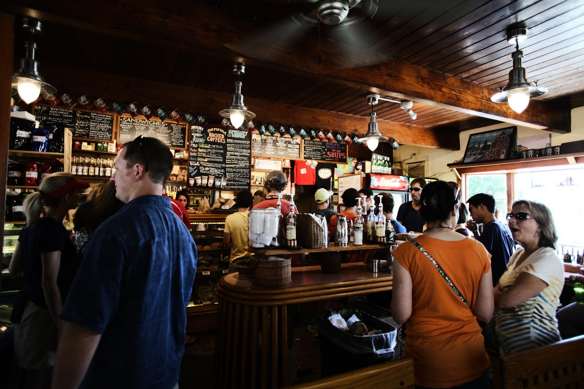 бар, кафене