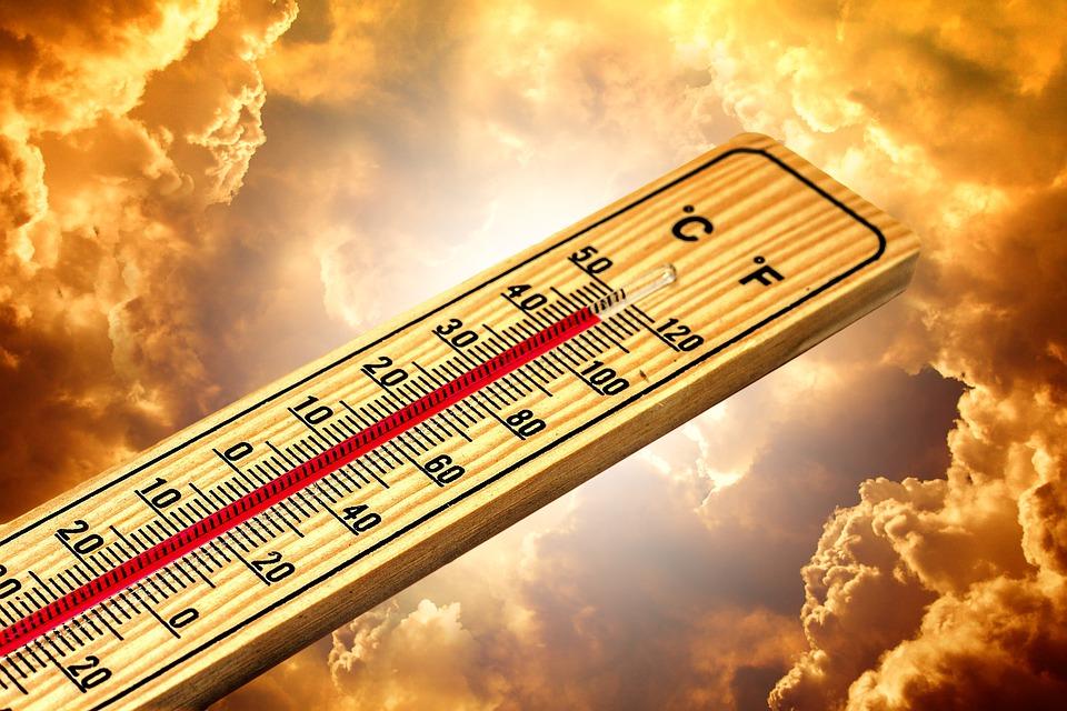 термометър, жеги