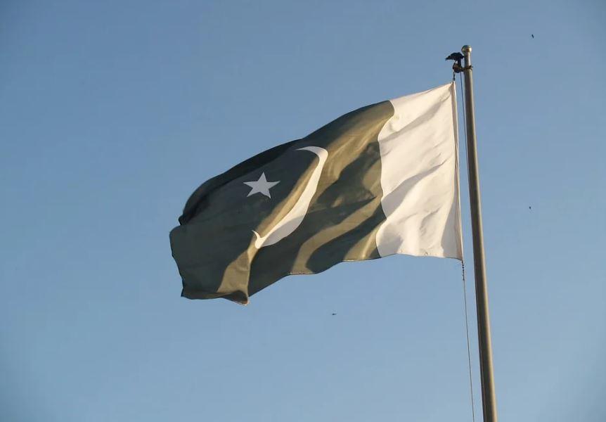 Пакистан знаме флаг